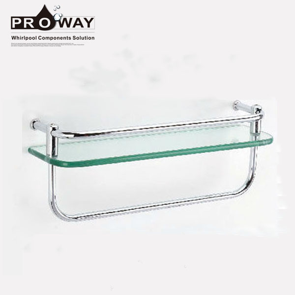 Glass Shelves In Bathrooms Hanging Shower Racks Standing Towel Shelf ...