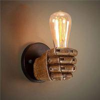 scandinavian wood pendant lighting for vintage home decor E27 vintage industrial lighting china supplier