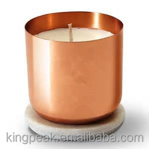 2015 Best Selling Copper Candle Jar/Copper Candle containers/christmas candle  jars/Candle