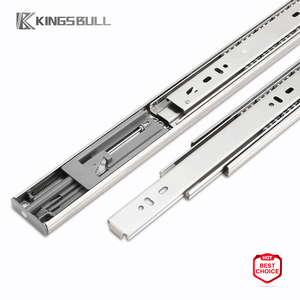 heavy duty ball bearing soft close kitchen stainless steel drawer slide