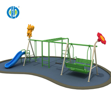 Best price amusement park children swing and slide for sale