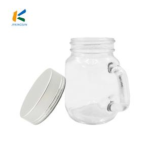 6c46068ef093 125ml drinking jar glass mason jar with straw and lid