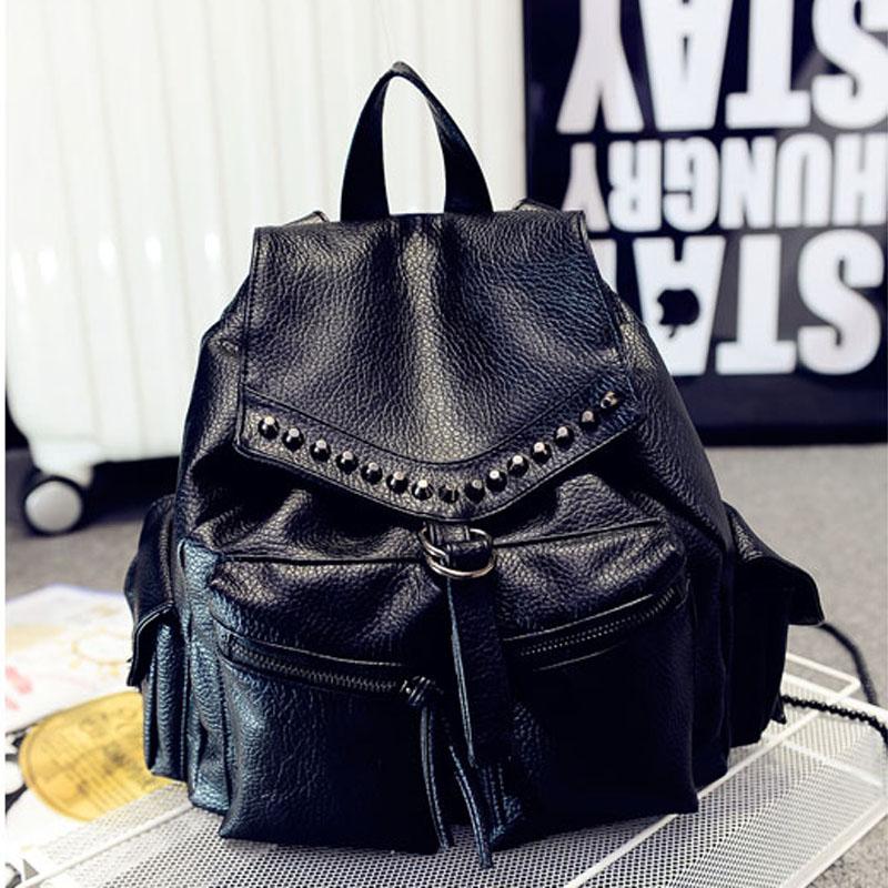 hot sale mochila designer pu leather backpack women all 5stars feedback  rucksack vintage backpack for girls bolsas 4 colors 843b6f2e7b8