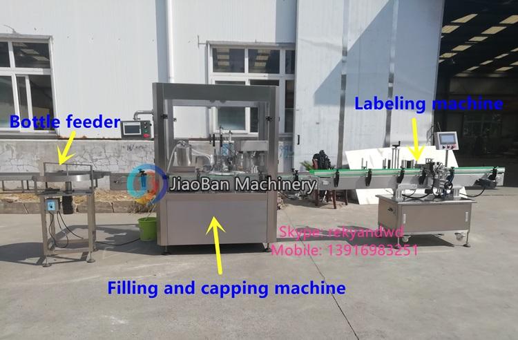 15 มิลลิลิตร 30 มิลลิลิตรโรงงานราคาอัตโนมัติทาสีเล็บ/เล็บเครื่องบรรจุเล็บการบรรจุและปิดเครื่อง