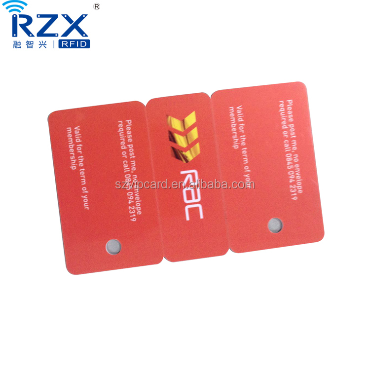 Combo PVC Plastic Gift Discount Card with Barcode Key Tags