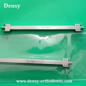Denxy Dental Bracket Positioner / Orthodontic Instruments / Dental Bracket position gauge for Anterior teeth