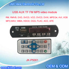 JK-P5001 For Televisions /tv /dvd fm usb mp3 mp4 car mp5 player module