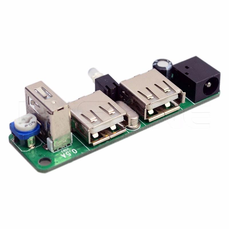 Simple Upcontrolled Negative Voltage Converter Circuit Diagram