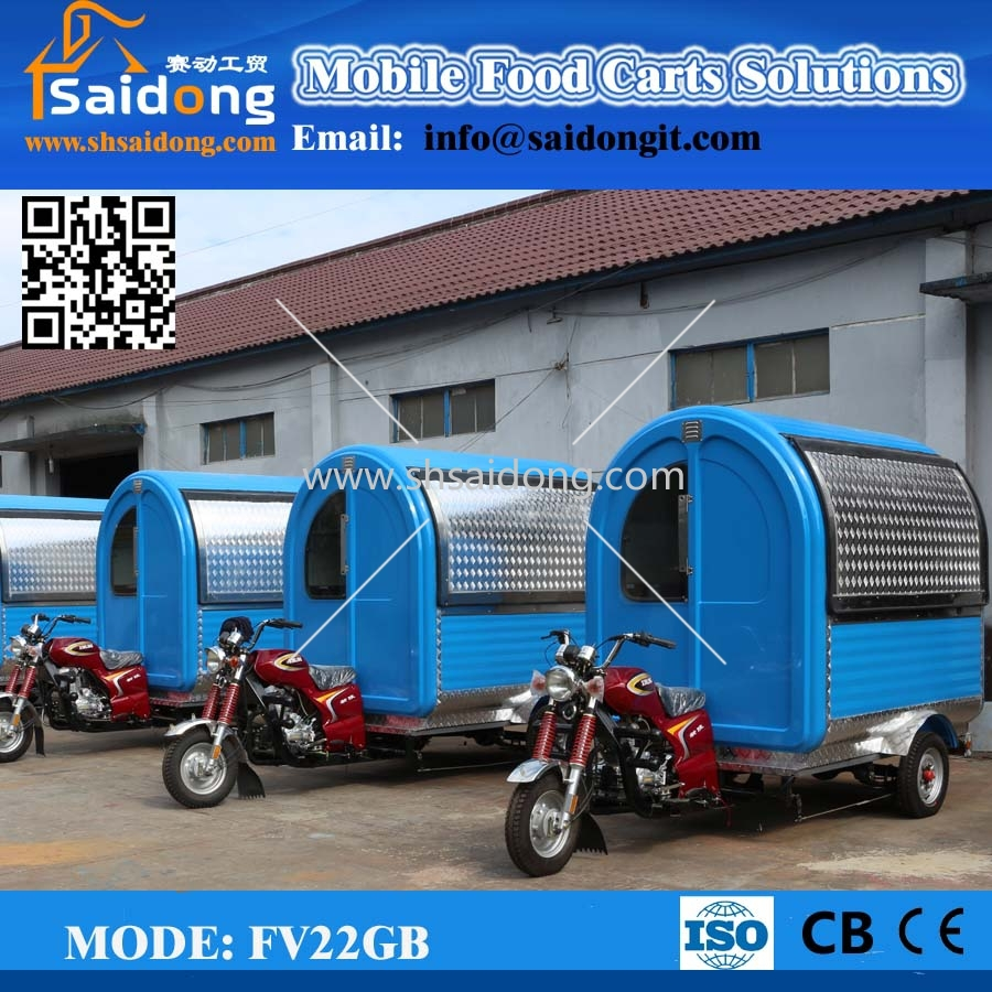 46f24136a9 Outside mobile kitchen van for sale catering van motorcycle snack food  cart(manufacturer)