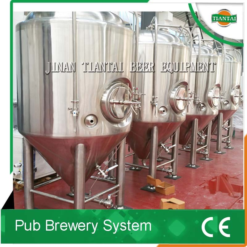 3bbl glycol jacketed/ stainless steel conical beer fermenter