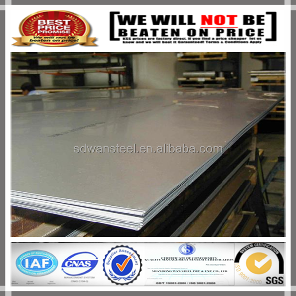 Hot Rolled 201 202 polish NO.4 stainless steel sheet/plate Price per kg