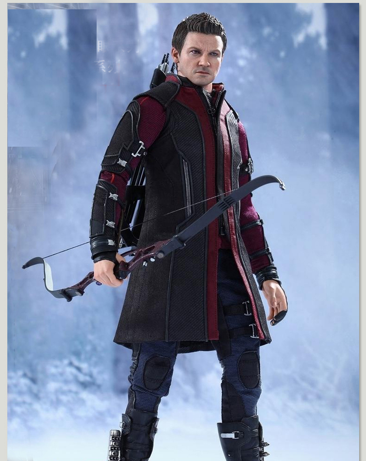 New movie Avengers Ultron Clint Barton Hawkeye cosplay ...