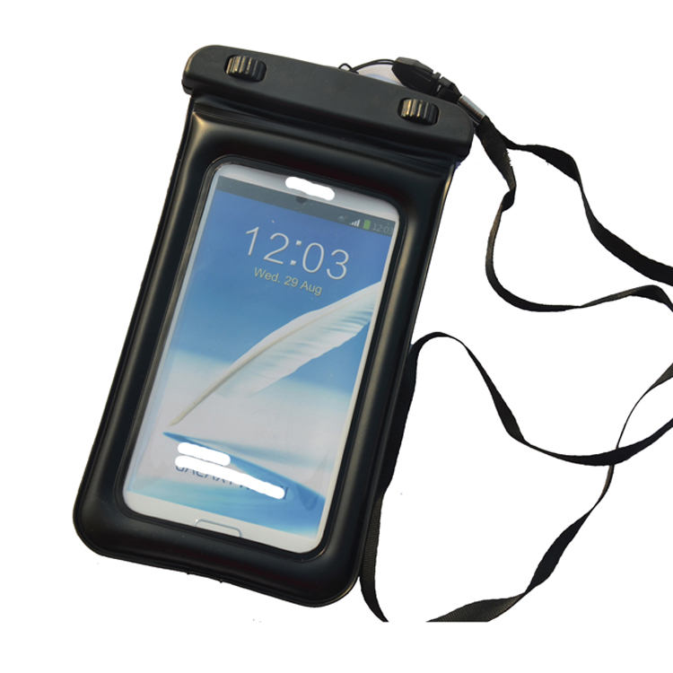 Free Sample Floating IPX8 Waterproof Phone Case,PVC Waterproof Phone Pouch,Waterproof bag