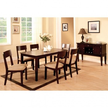 Dark Wood Dining Table Set Brown Color Wooden Floor DT4001Dark Wood Dining Table Set Brown Color Wooden Floor Dt4001   Buy  . Dining Table Dark Wood. Home Design Ideas