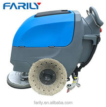 FL55-500 auto floor washing scrubber machine single brush