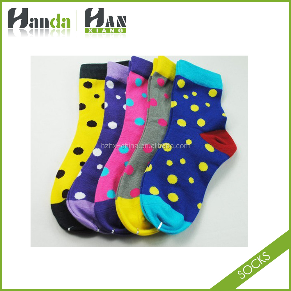 happy dress socks hot sale ladies cosy socks jacquard custom man socks small order