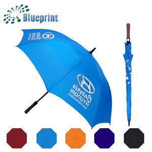 China Factory Promotional golf umbrella with standard umbrella size
