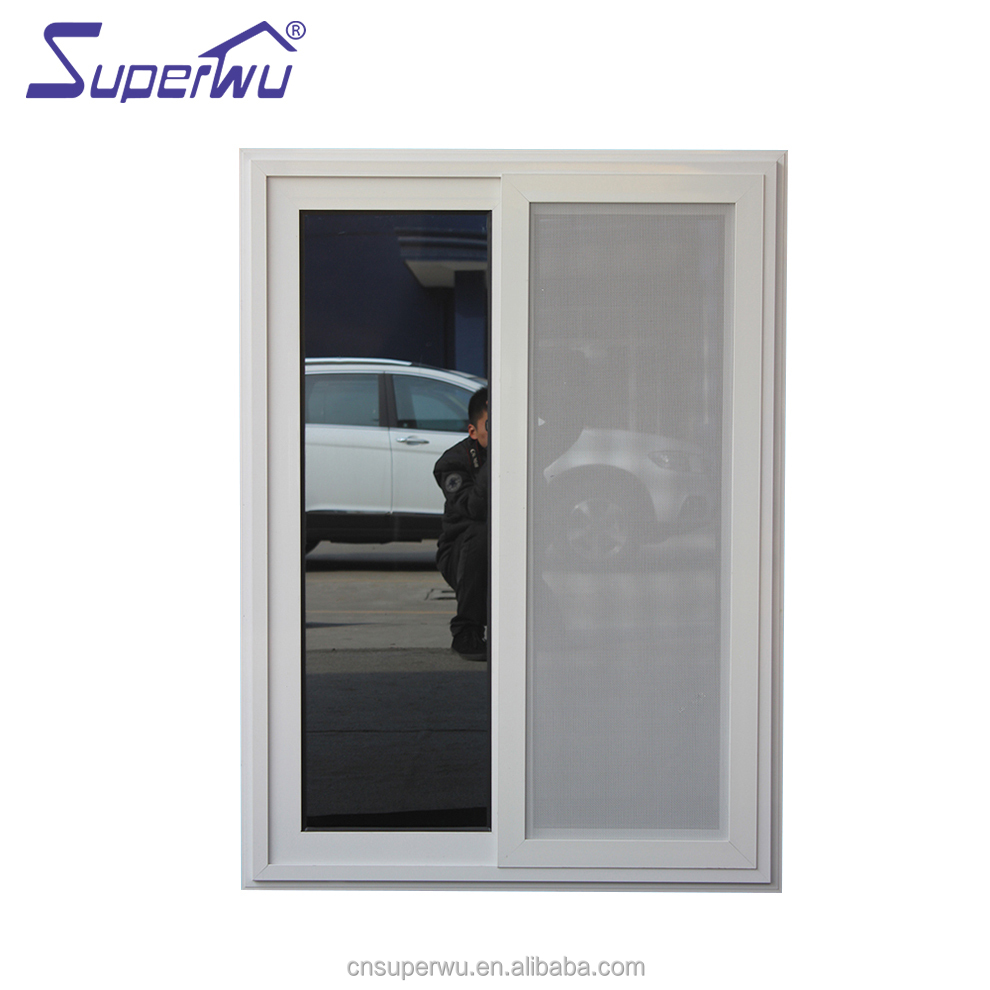 Australian standard AS2047 double glazed aluminium windows toughened glass commercial sliding window with 10 years warranty