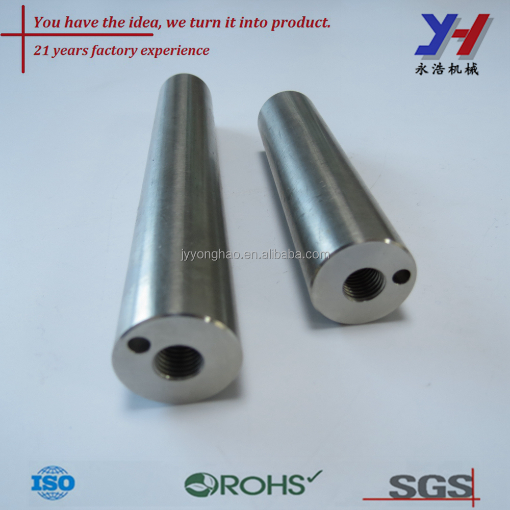 custom cnc machining two stroke engine vertical shaft as your drawings
