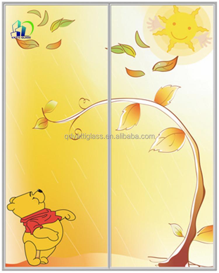 Colorful Broken Glass Wall Art Composition - Wall Art Design ...