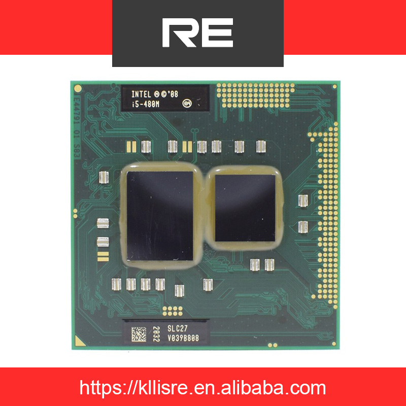 Intel Core i5-480M SLC27 2.66GHz 3MB Socket G1 Laptop CPU Processor