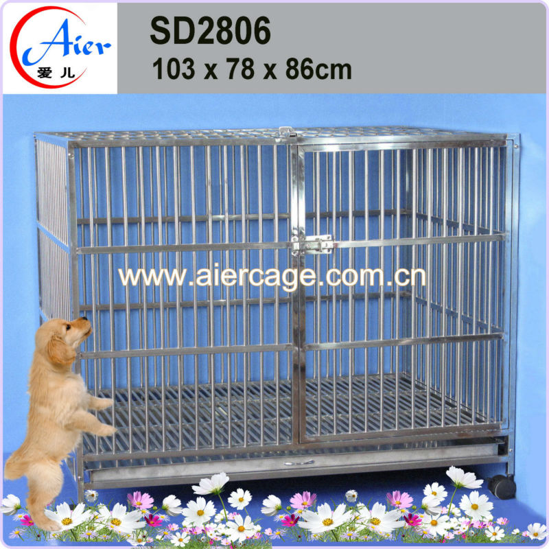 Inexpensive Factory wholesale pet supplies 42 dog cage