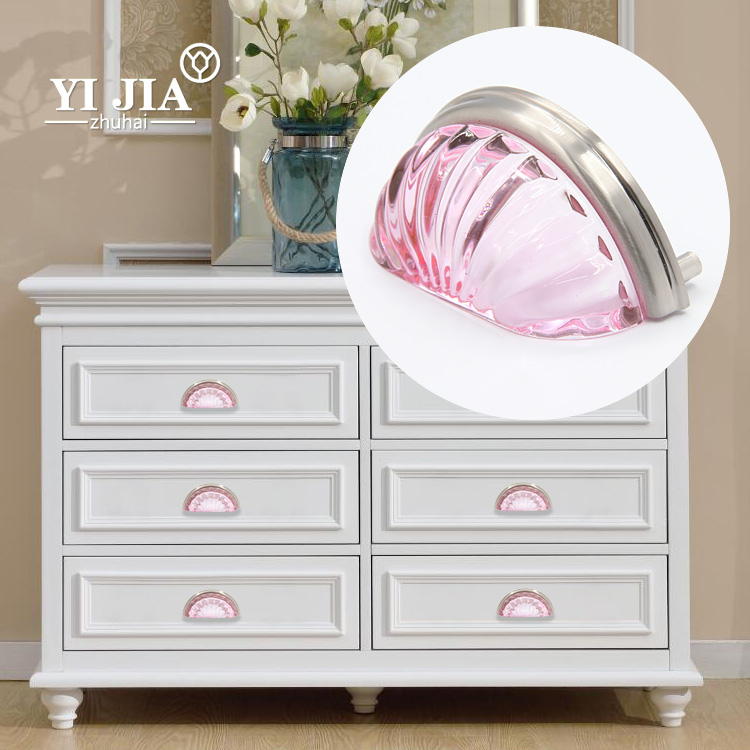 new product crystal rhinestone furniture handles cabinet pulls