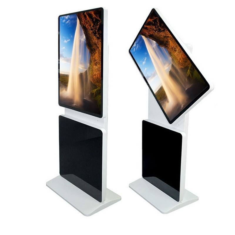 large lcd Full HD PC touch screen kiosk display for <strong>advertising</strong>