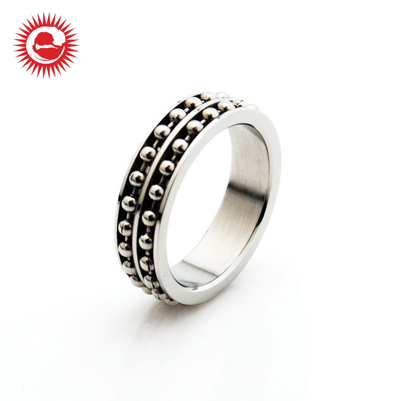 Excellent quality beautiful stainless steel men's finger new ring