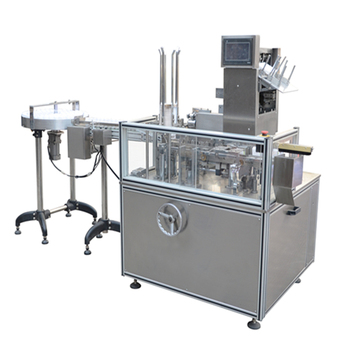 Automatic blister gable top carton filling machine for free shipping