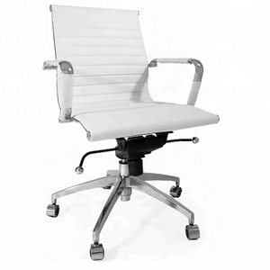 Best buy hot sale executive 360 degree swivel high back conference staff fixed rolling leather office chairs for sale