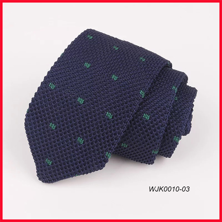 Luxury Fashion Mens Slim End Knit Ties Narrow Necktie