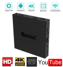 Android 8.1 tv box doppio di wifi amlogic s90x2 smart tv box QINTAIX Q9S PRO Google media <span class=keywords><strong>player</strong></span> quad core 4G 32G <span class=keywords><strong>iptv</strong></span> tv box