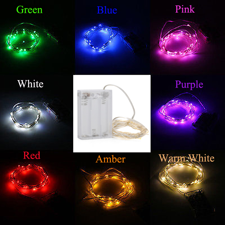 Wedding Decoration Mini Led 3aa Battery Operated Fairy String ...