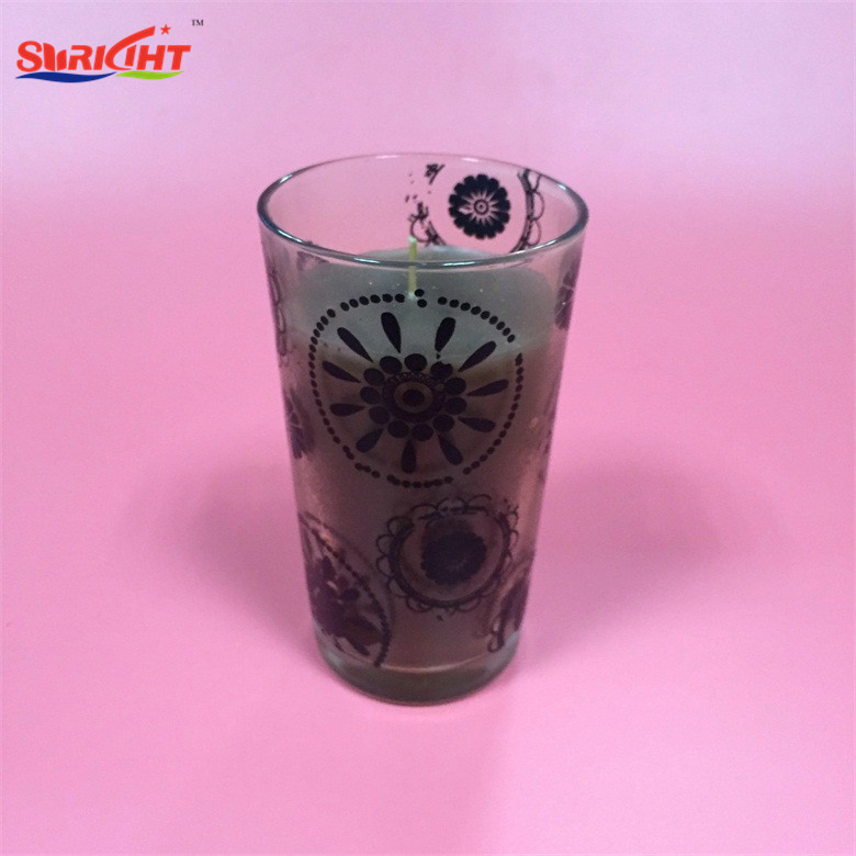 Engraved Tall Holders Glass Candle For China Factory