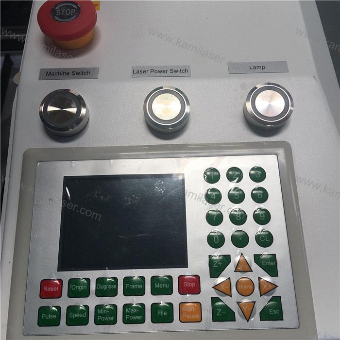 SS carbon steel laser cutting machine 150W Reci CO2 metal laser cutting machine 1300*900mm