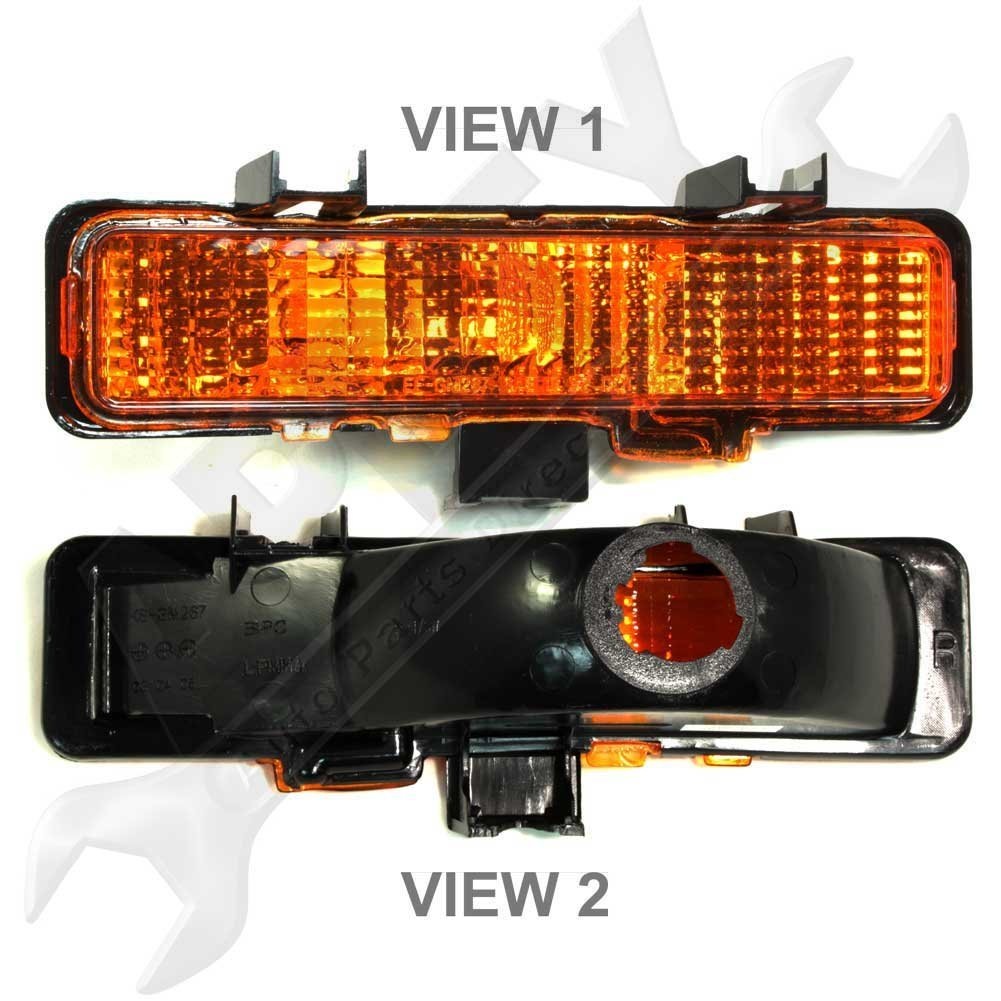 Get Quotations Apdty 915706 Turn Signal Park Parking Side Marker Lamp Light Embly Fits Front Right 1983