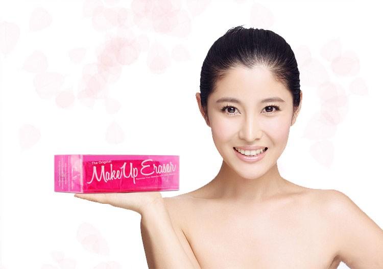 Customized 6 Colors makeup remover towel eraser makeup remover cloth