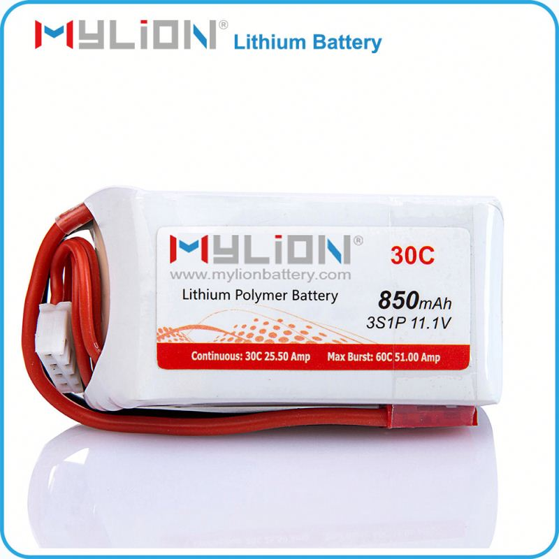 850mAh multi capacity 11.1v li-ion battery for multi use for electric pen and ego in us market