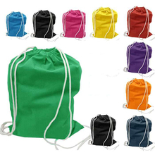 Customized 39 x 49 cm colorful string drawstring bag backpack price