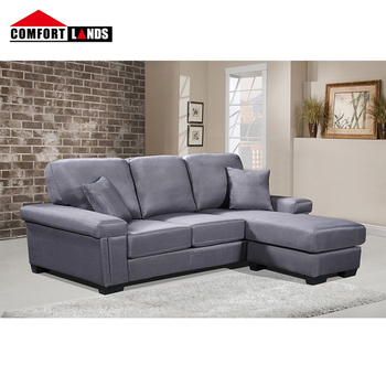 Modern Anese Style Fabric Sectional