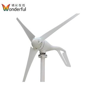 China wind turbine manufacturer small wind turbine motor 100w to 300w 12v/24v portable wind turbine generator for home system