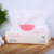 2019 hot sell pink outer package softly hand facial cotton tissue paper