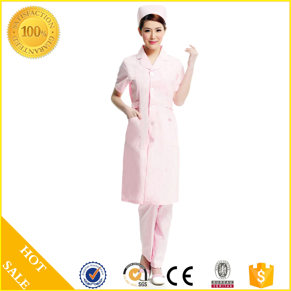 Hot Sale Hospital Uniform and Nurse Uniform supply medical scrubs and lab coat fro doctor unifom