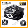 China Supplier 50mm Bore Size 2 Stroke Motorcycle Cylinder Block For Suzuki AX100