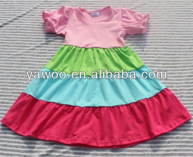 c0667691a60f New Arrival Trendy Summer 100% Cotton Ruffle One Year Baby Party ...