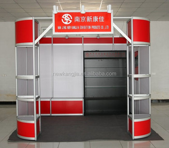 Trade Stands For : China nanjing nkj hot sale trade show round booth exhibition