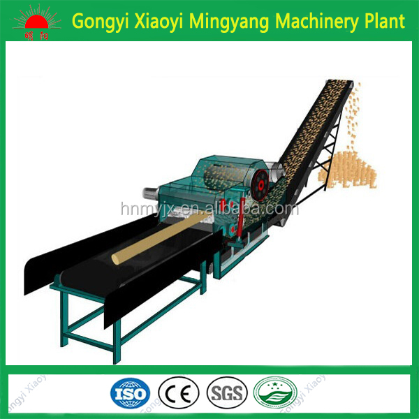 China Supplier Ce Approved Wood Chipper Shredder / Used Wood Drum ...
