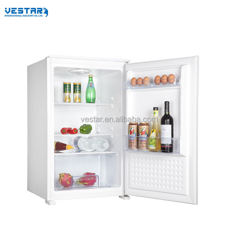 VL148A model 124L capacity built in refrigerator without freezer