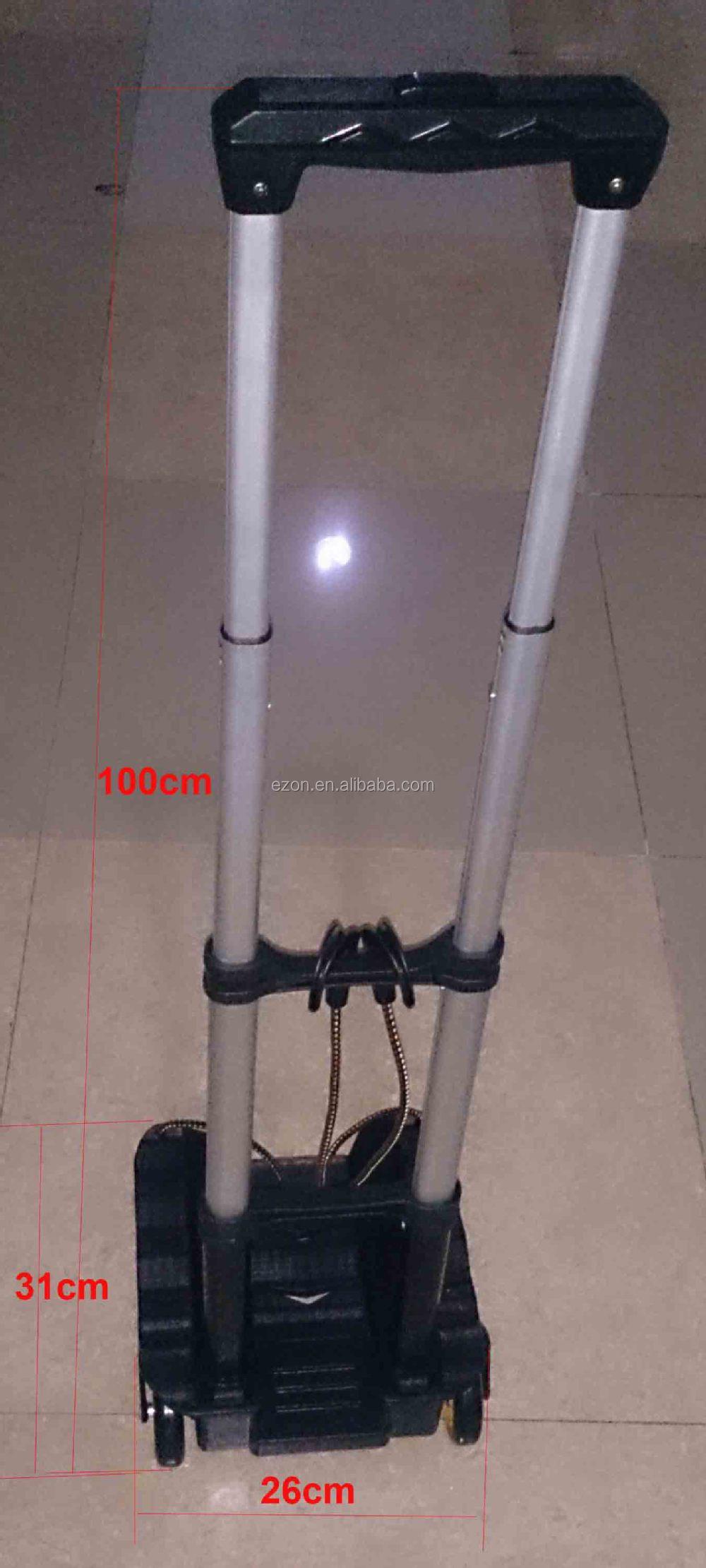 Portable Travel Folding Aluminum Luggage Cart,Lightweight Aluminum ...